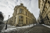 Old city of Bucharest, Romania, Europe. wide view.